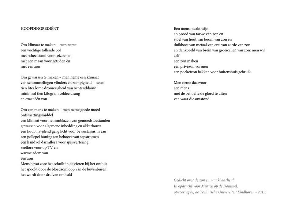 Gedichten In Opdracht Arnoud Rigter